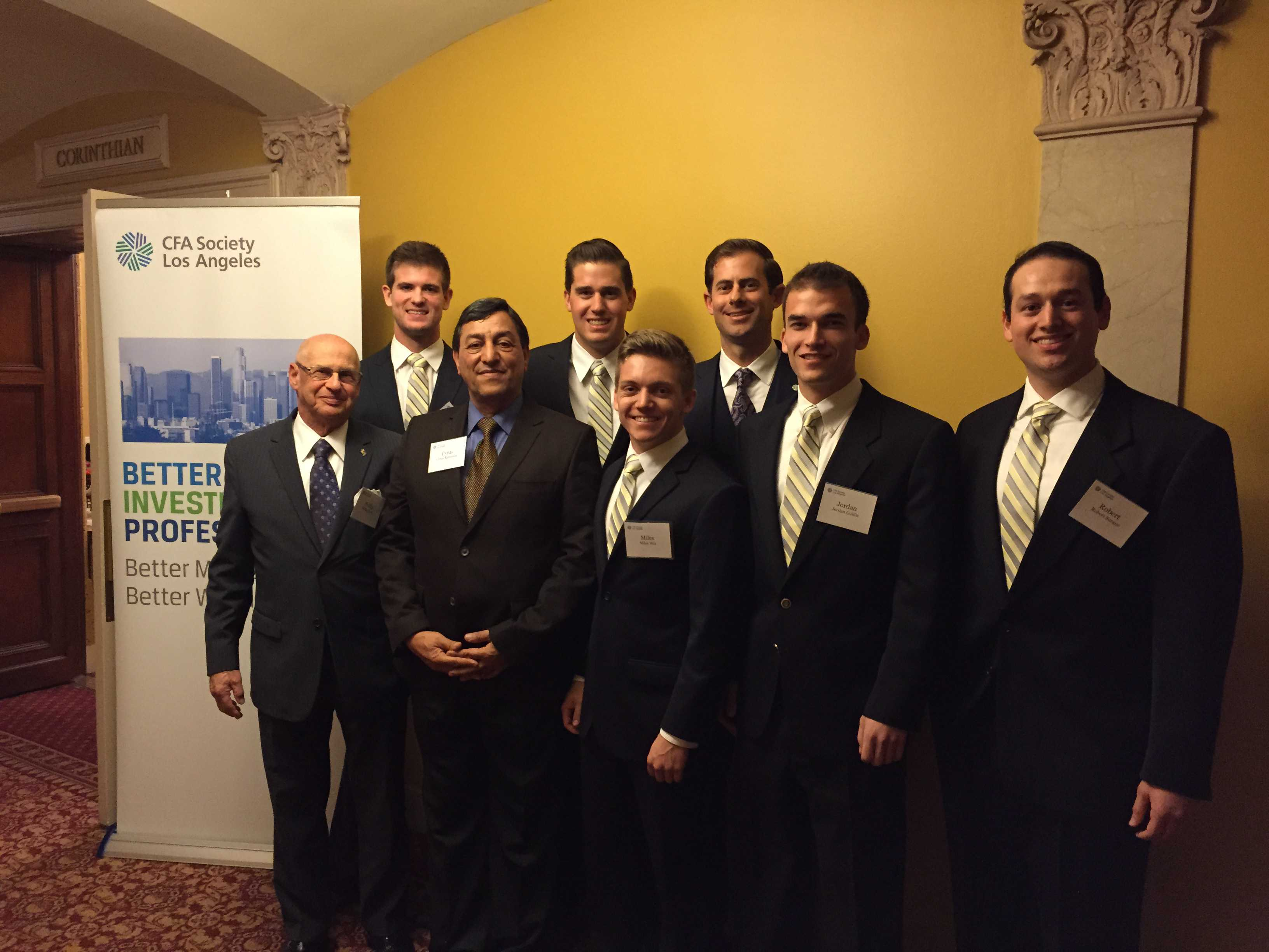 02 26 2016 Cfa Institute Research Challenge In Los Angeles
